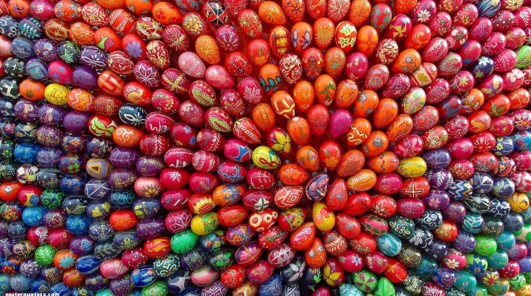easter eggs - mariao